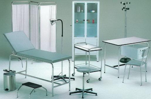 Медицинская мебель изметалла – практично исовременно