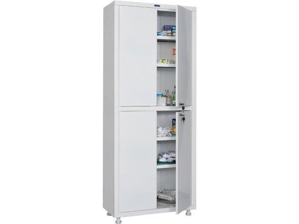 Двустворчатый медицинский шкаф – более вместительный иширокий